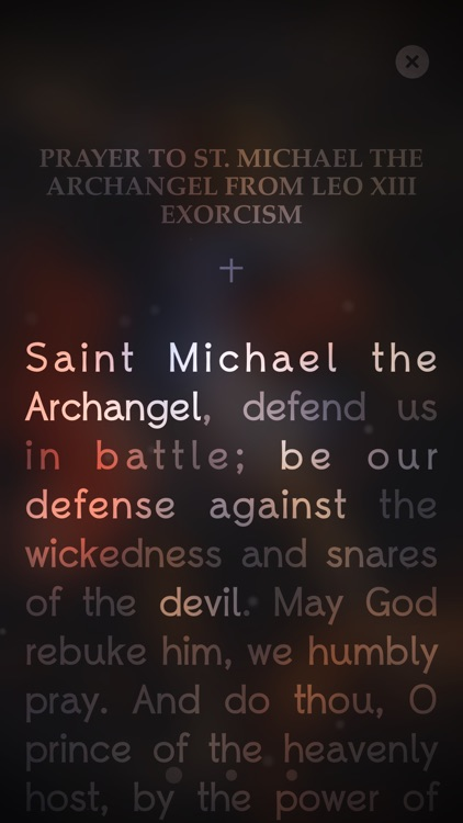 Michael 十 Who Like Unto God !