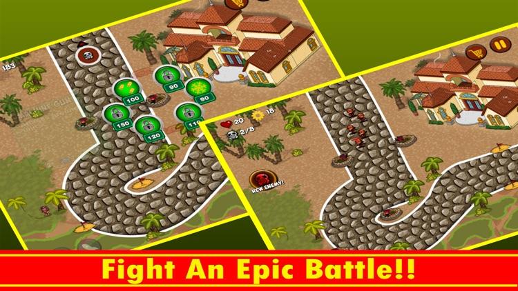 Town Battle Defense screenshot-3