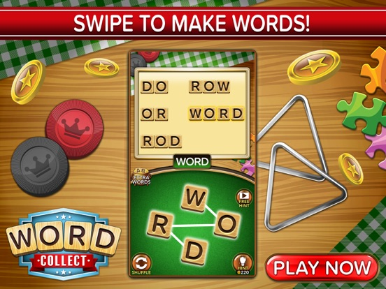 Word Collect: Word Puzzle Game на iPad