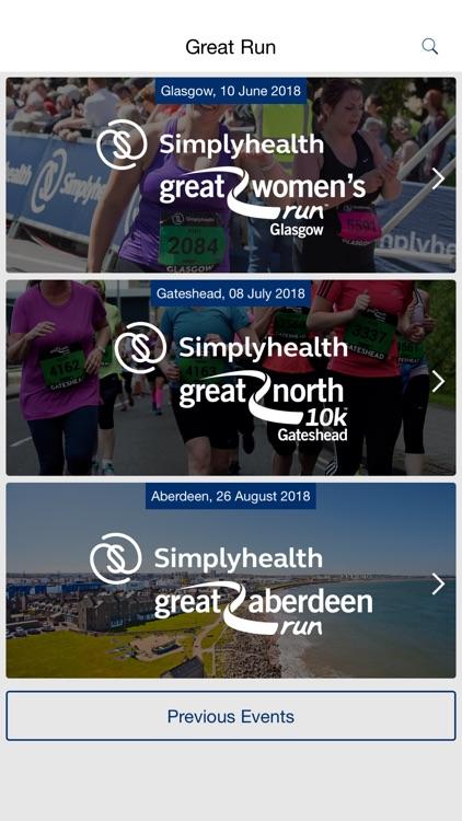 Great Run: Running Events