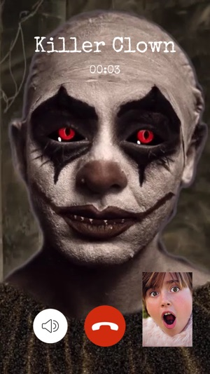 Video Call from Killer Clown on the App Store