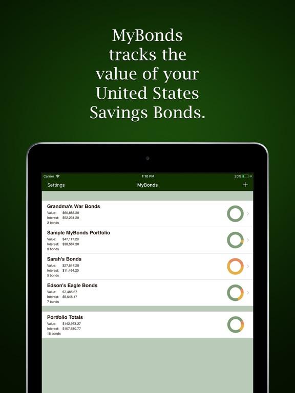 MyBonds Screenshots