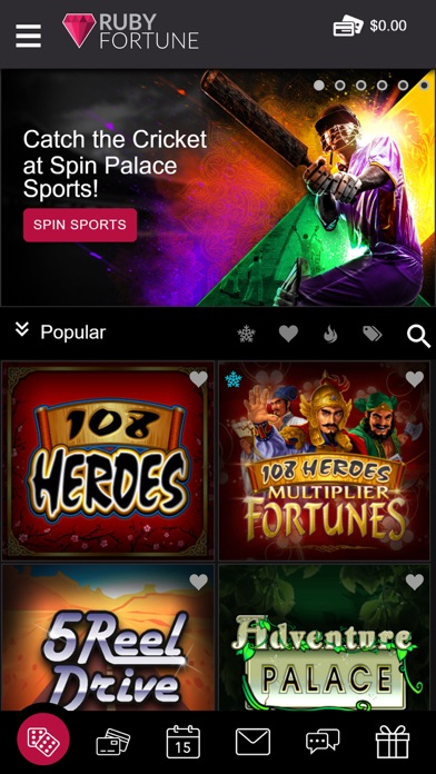 Ruby Fortune Casino 4.0.0 IOS