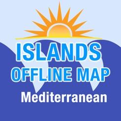 Mittelmeer Karte Inseln.Mittelmeer Inseln Karte Im App Store