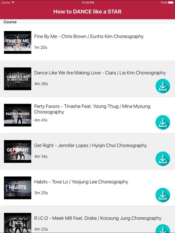 How to DANCE like a STAR for iPad screenshot-4