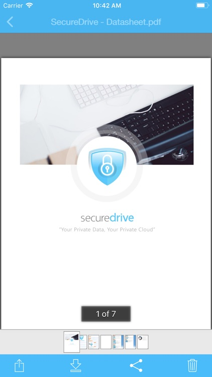 SecureDrive Mobile