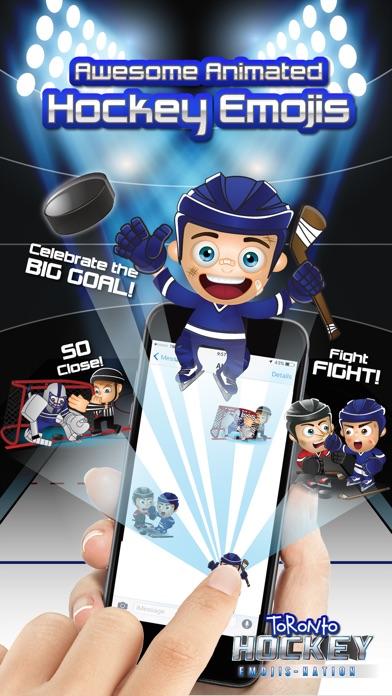 Toronto Hockey Emojis Screenshot 2