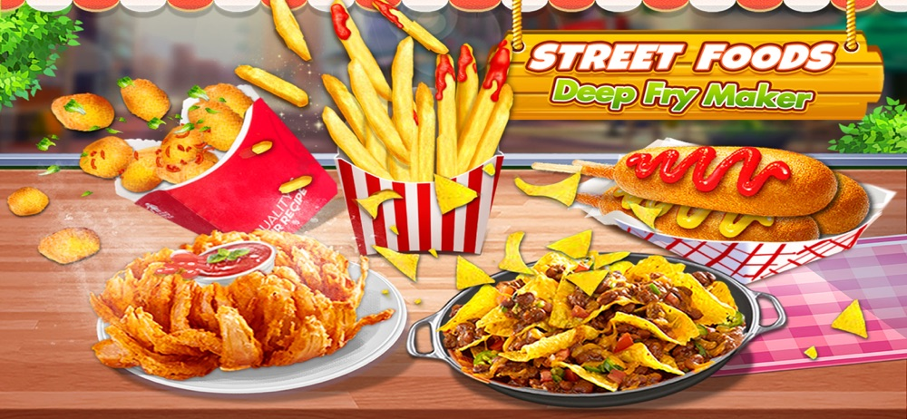 Street Fry Foods Cooking Games Cheat Codes