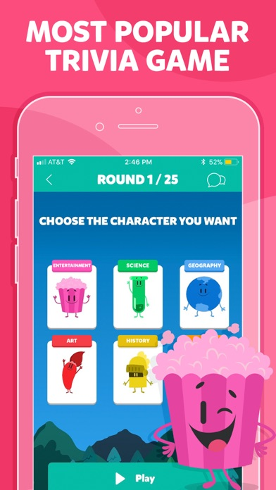 Screenshot for Trivia Crack in United States App Store