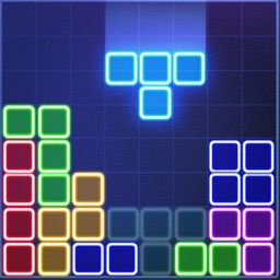 glow puzzle - connect block