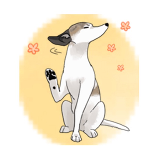 Snap Dog - Whippetmoji Sticker