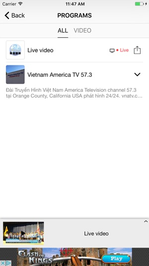 Viet Nam America Television on the App Store