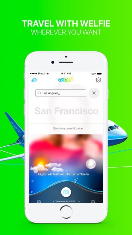 Welfie - your smart personal weather companion screenshot-4