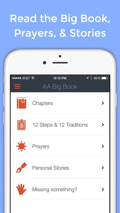 Screenshot for AA Big Book Pro (Unofficial) in United States App Store
