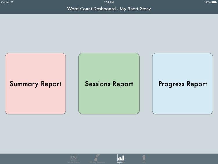 Word Count Dashboard screenshot-3