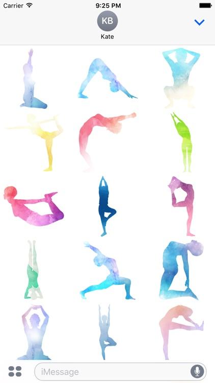 My Yoga Stickers