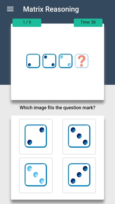 IQ Test: The Intelligence Quiz Screenshot