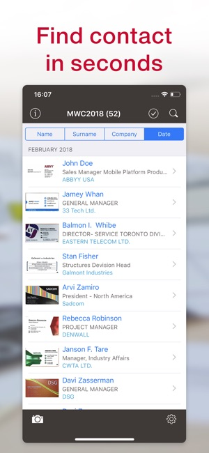 Business card scanner reader on the app store reheart Gallery