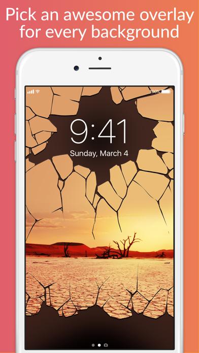Lock Screens - Free Wallpapers & Background Themes Screenshot 3