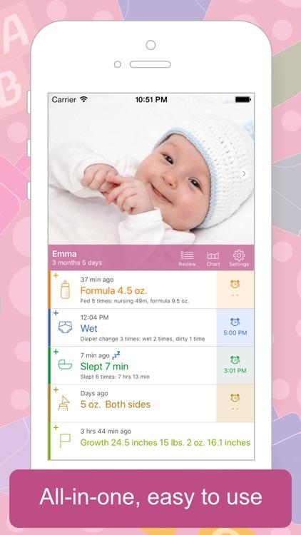 Baby Tracker - Newborn Log