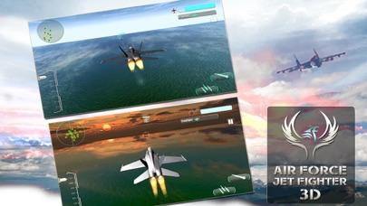 Air Force Jet Fighter 3D screenshot three