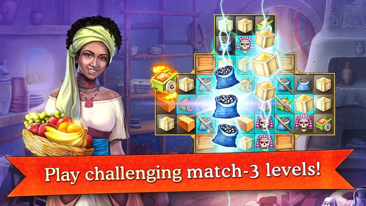 Cradle of Empires Match-3 Game screenshot-0