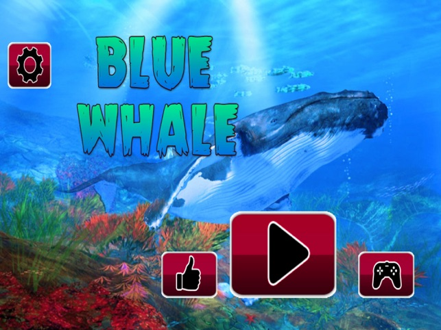 Blue Whale Challenging Game, game for IOS