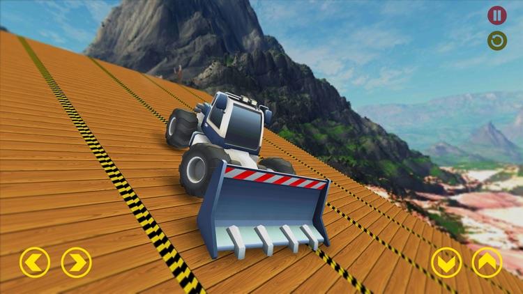 Mega Ramp Excavator Stunts Sim screenshot-3