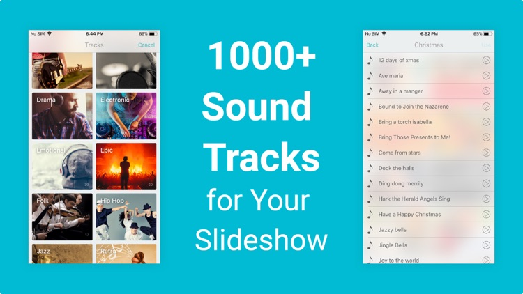 Slideshow Maker with Music App