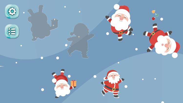 Santa Puzzle Game for Kids