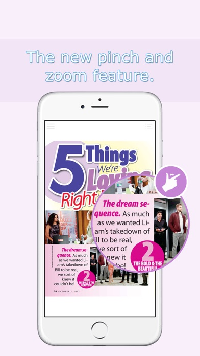 Screenshot for CBS Soaps in Depth in United States App Store