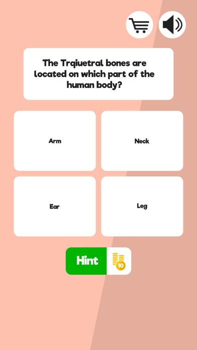 Anatomy & Physiology Quiz Screenshot on iOS