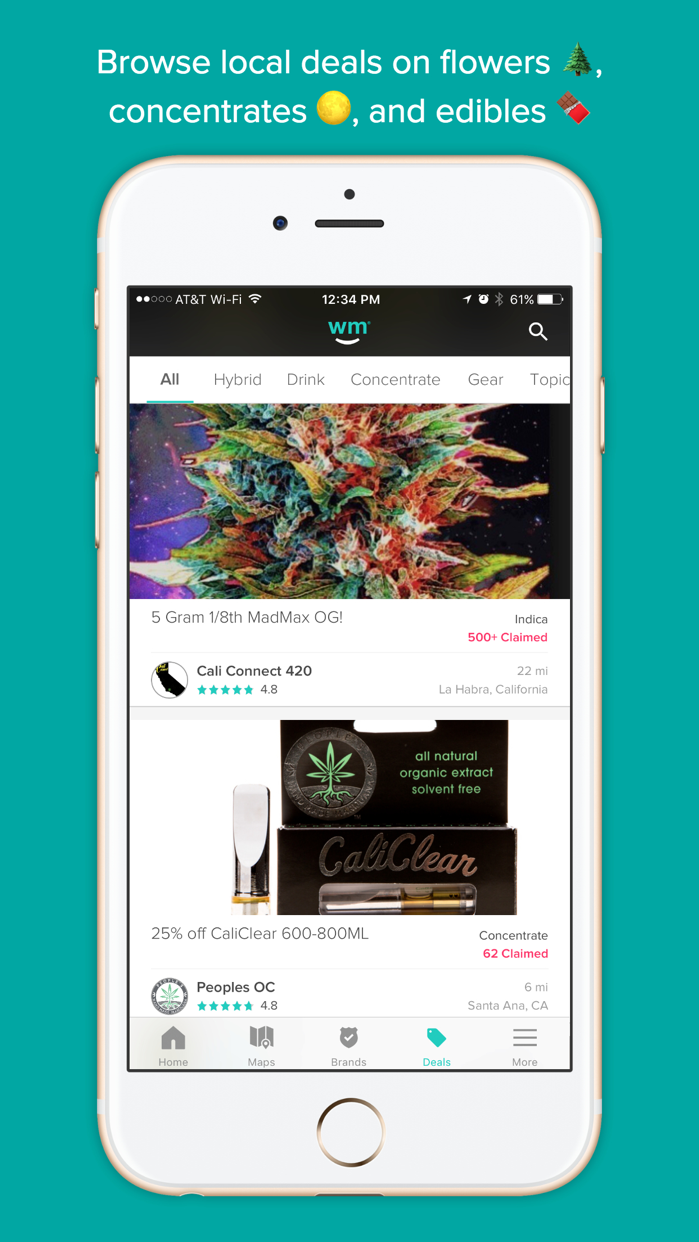 Weedmaps: Marijuana & Cannabis Screenshot