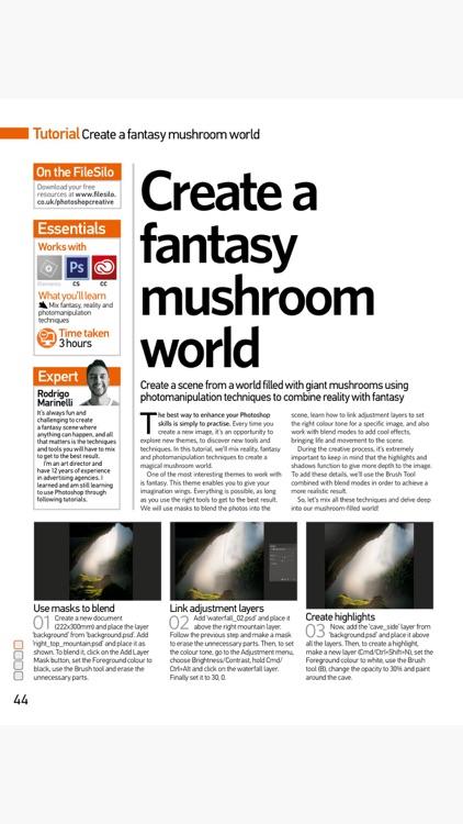 Advanced Photoshop Magazine: Professional guides screenshot-4
