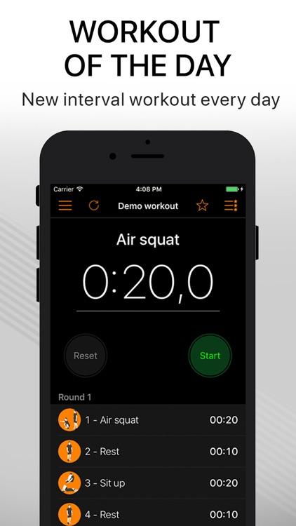 Workout Timer Pro - tabata wod screenshot-3