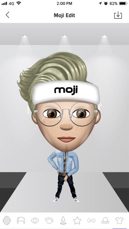 Moji Edit- Emoji Yourself screenshot-3