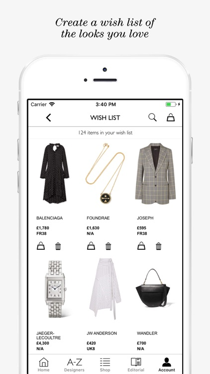 NET-A-PORTER: Designer Fashion screenshot-3