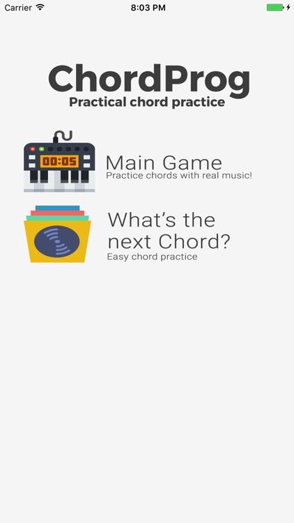 ChordProg Ear Training