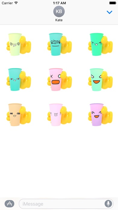 download Animated Plastic Cup Emoji apps 1