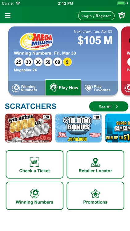 Virginia Lottery Official App