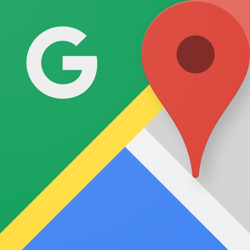Google Maps - Transit & Food application logo