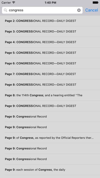 The Congressional Record screenshot-3