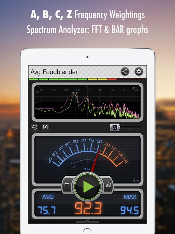 iphone decibel meter decibel x dba geluidsmeter app voor iphone en 11790