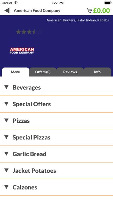 American Food Company screenshot two