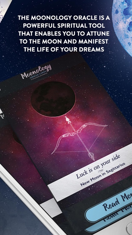 Moonology Oracle Cards screenshot-3