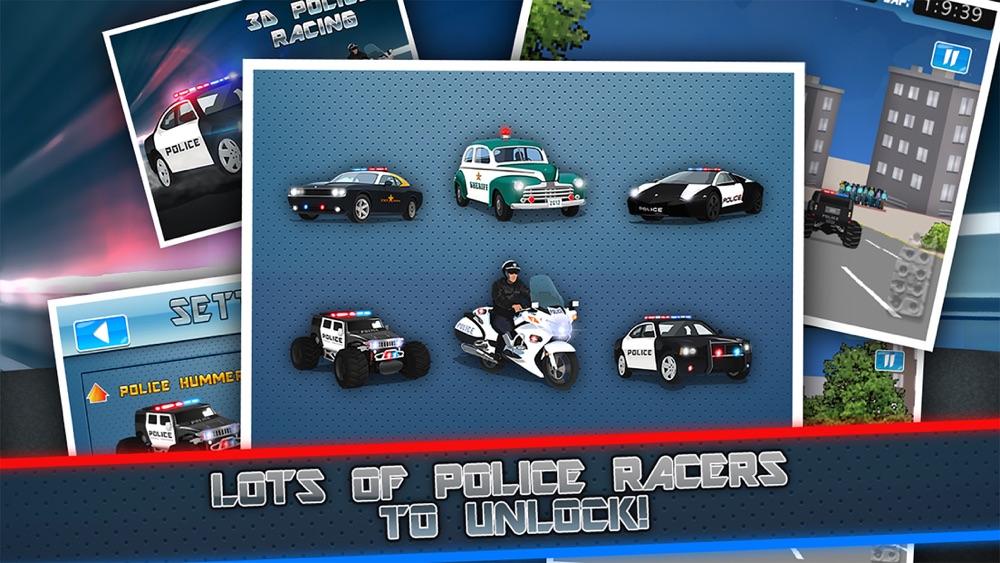 Police Chase Racing - Fast Car Cops Race Simulator hack tool