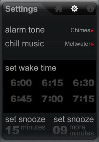 zsnuz snooze alarm + nap timer - náhled