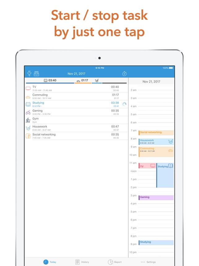 daily activity log app