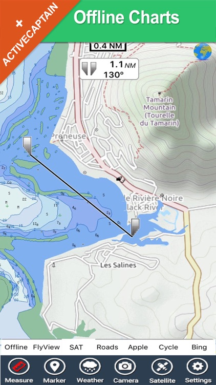 Boating Mauritius HD GPS Chart screenshot-1