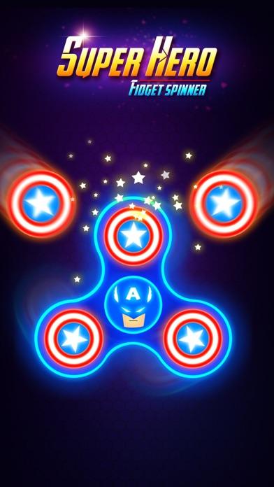 SuperHeroes Fidget Spinner screenshot #1